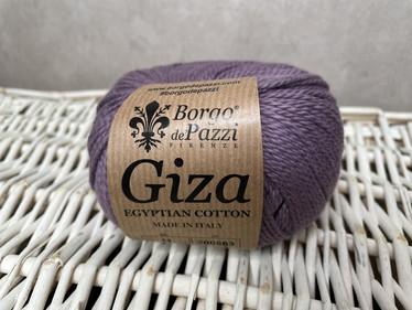 Borgo de Pazzi, Giza puuvillalanka väri 11 vaalea lila