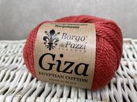 Borgo de Pazzi, Giza puuvillalanka väri 16 oranssin punainen