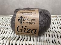 Borgo de Pazzi, Giza puuvillalanka väri 21  harmaan ruskea