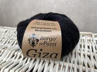 Borgo de Pazzi, Giza puuvillalanka väri 24 musta