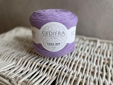 Gedifra, Lana Mia Uni, väri 918 lila