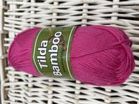 Svarta Fåret Tilda bambu, väri 848 kirsikanpunainen