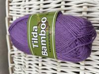 Svarta Fåret Tilda bambu, väri 863 violetti
