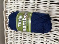 Svarta Fåret Tilda bambu, väri 867 marine