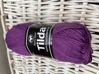 Svarta Fåret Tilda, väri 563 tumma violetti