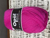 Opal, yksivärinen 6-säikeinen ,  pink 7901