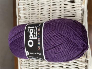 Opal, yksivärinen 6-säikeinen ,  violet 7902