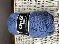Opal, yksivärinen 6-säikeinen , denim 5307