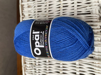 Opal yksivärinen 4-säikeinen , 5188 sininen