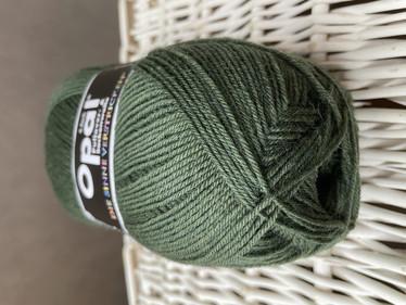 Opal yksivärinen 4-säikeinen , 5184 sammaleen vihreä
