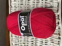 Opal yksivärinen 4-säikeinen , 5180 punainen