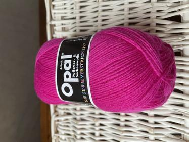 Opal yksivärinen 4-säikeinen , 5194 pinkki
