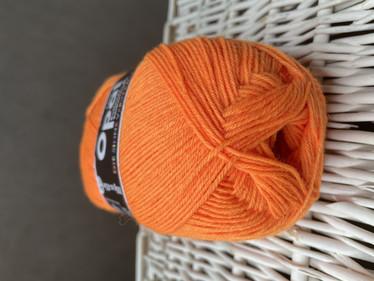 Opal yksivärinen 4-säikeinen , 2013 neon oranssi