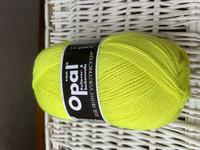 Opal yksivärinen 4-säikeinen , 2012 neon keltainen