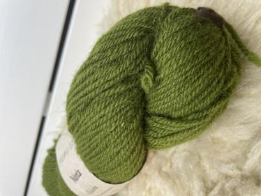 Vuonue Manta villalanka värjätty, vihreä