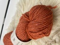 Vuonue Pentti sukkalanka värjätty, oranssi
