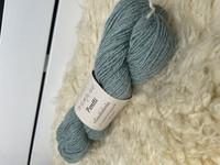 Vuonue Pentti sukkalanka värjätty, vaalea sinivihreä