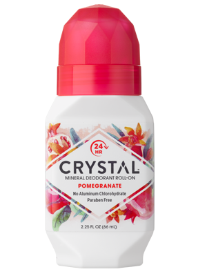Crystal essence mineraali deo Roll-on Granaattiomena