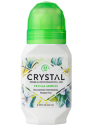 Crystal mineral deodorant roll-on Vanilja-Jasmin 66 ml