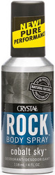 ROCK Body spray Crystal 118 ml