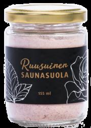 Ruusuinen saunasuola 155 ml