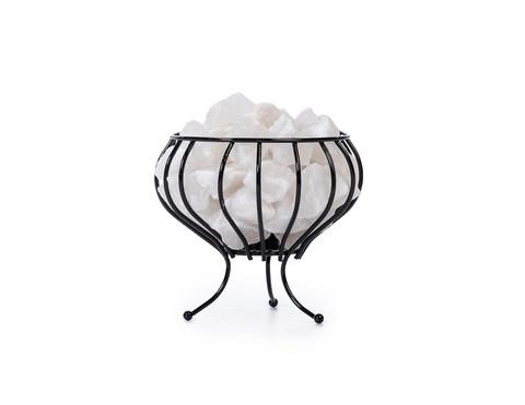 Iron Basket valkoinen suolavalaisin 3-4 kg