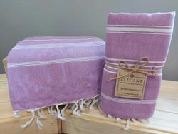 Kylpypyyhe violetti