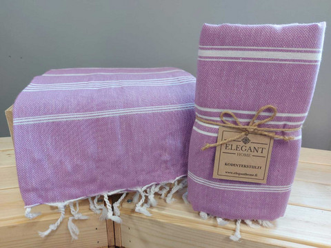 Hamam-kylpypyyhe violetti
