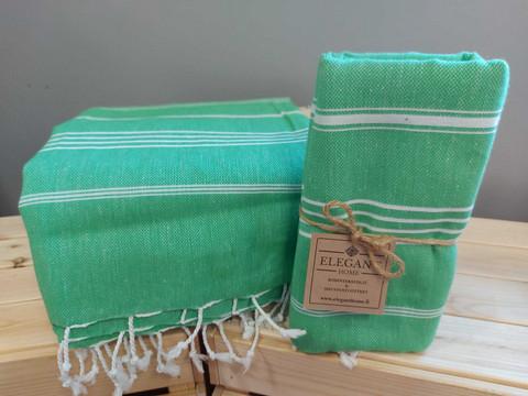 Hamam-kylpypyyhe vihreä