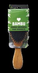 Bambu pehmeä hiusharja