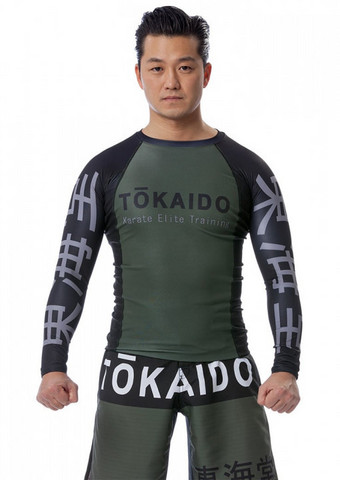 TOKAIDO Karate elite training Rash Guard paita