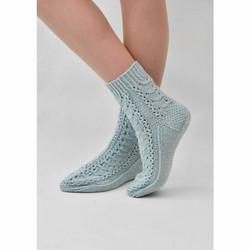 Sydänkäpyset-sukat tarvikepaketti