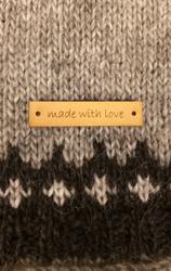 Made with love - merkki, nahkaa
