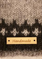 Handmade -merkki, nahkaa