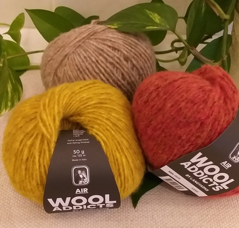 Wool Addicts Air, Langyarns