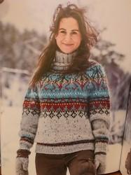 Norjalaisia villapaitoja -kirja, Linka Neumann