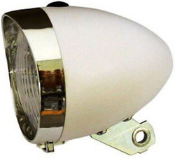 HEADLIGHT RETRO LED 65 MM WHITE