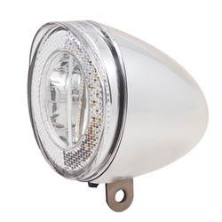 SPANNINGA SWINGO LED CHROME FOR DYNAMO HUB