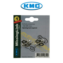 CHAIN CONNECTOR KMC MISSING LINK X1, 1/2
