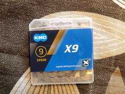 KMC X9 GREY 1/2X11/128