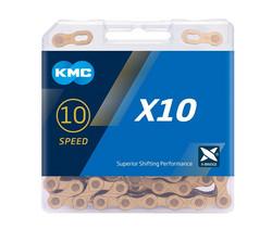 KMC X10 GREY 1/2x11/128