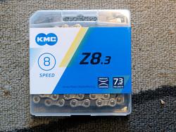 KMC Z8.3 SILVER/GREY 1/2X3/32