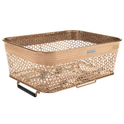 ELECTRA LINEAR REAR BASKET LOW PROFILE, METAL, MATTE COPPER, QR