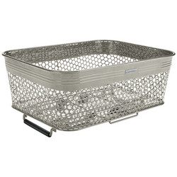 ELECTRA LINEAR REAR BASKET LOW PROFILE, METAL, GRAPHITE, QR