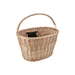 ELECTRA WICKER BASKET NATURAL, QUICK LOCK