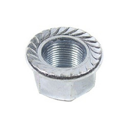 AXLE NUT ZINC PLATED M10X1