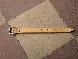 LEATHER STRAP, BROWN LEATHER