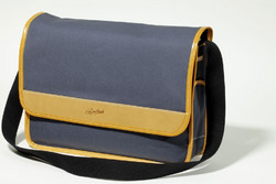 GILLES BERTHOUD SHOULDER BAG GRAY
