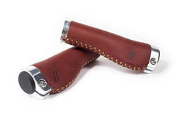 SCHINDELHAUER ERGO GRIPS, BROWN LEATHER