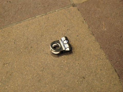 FENDER BRACKET FOR 5MM STAY, 6MM HOLE, STAINLESS STEEL